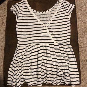 Free People shirt -size M like new